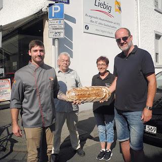 Juli Spende der Bäckerei Ihr guter Liebig aus Pfungstadt an den Förderverein Kommunales Kino e.V.