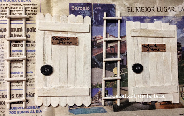 El calaixet de la iaia como hacer una puerta para el - Puerta ratoncito perez el corte ingles ...