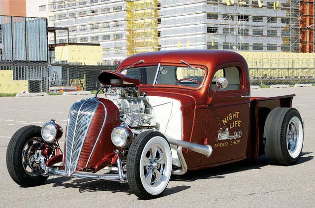 hot rod araba resimleri