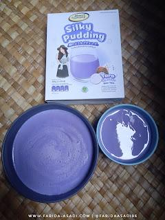 Silky Pudding Rasa Taro