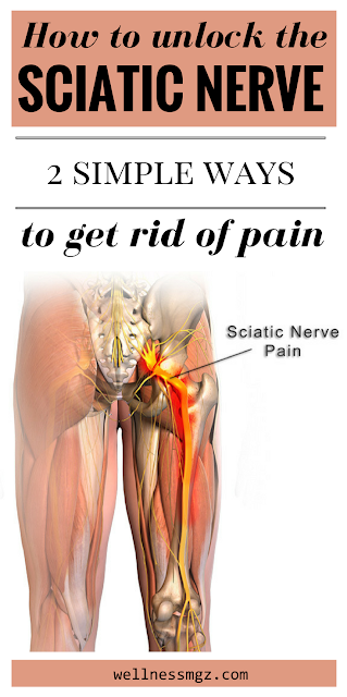 How to unlock the sciatic nerve: 2 simple ways to relieve the pain