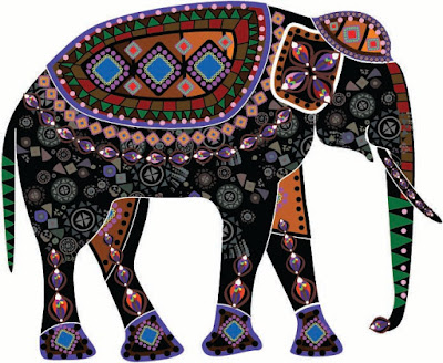 old-traditional-designer-elephant-pictures