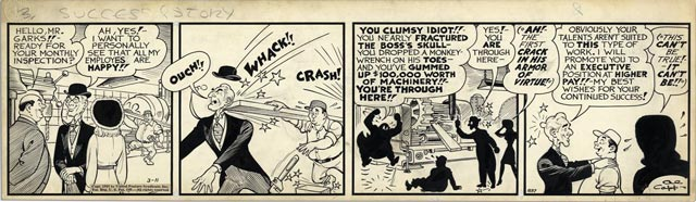Li'l Abner comic strip on 11 March 1942 worldwartwo.filminspector.com