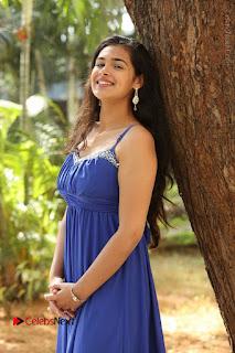 Actress Prasanna Stills in Blue Short Dress at Inkenti Nuvve Cheppu Movie Platinum Disc Function  0076.JPG