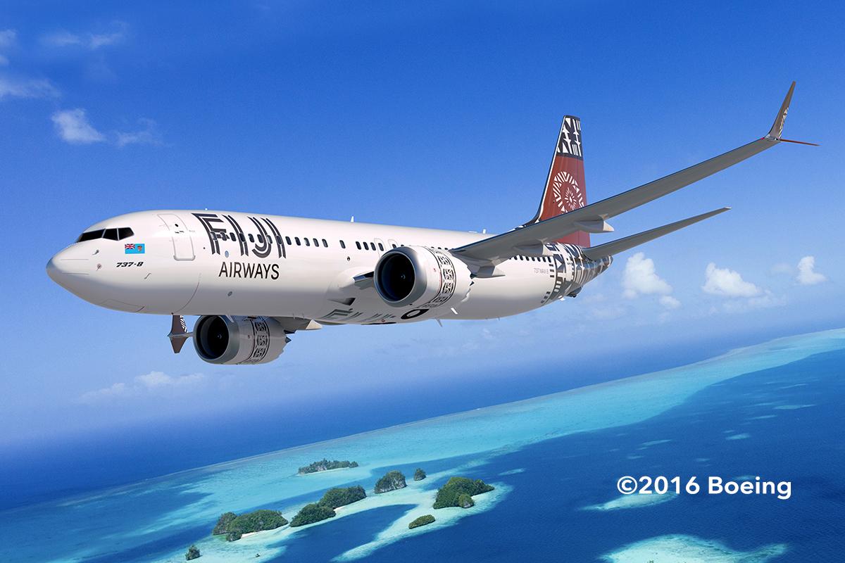 Fiji Airways Orders 737 Max8s