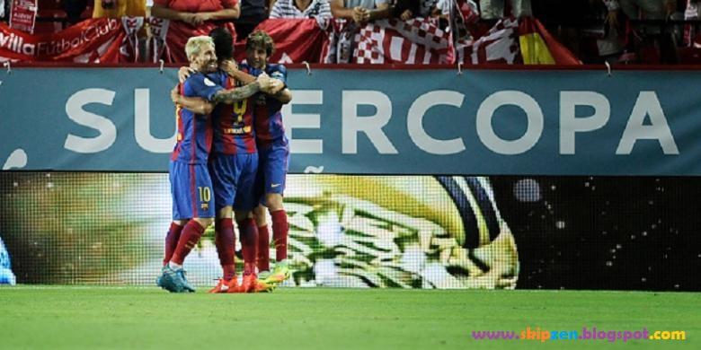 2-0 Barcelona Vs Sevilla di Final Pertama Piala Super Spanyol 2016