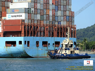 Maersk La Paz e Svitzer Setimio