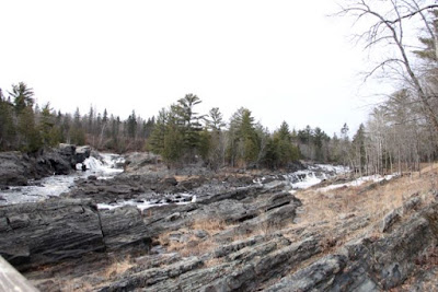 St. Louis River in Jay Cooke State Park, downstream from PolyMet