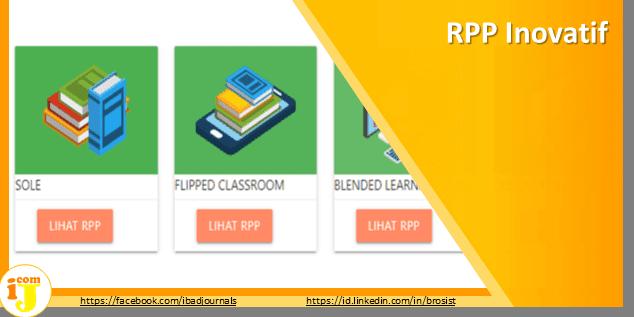 RPP INOVATIF : Rujukan Membuat RPP Berdasarkan Model Pembelajarannya