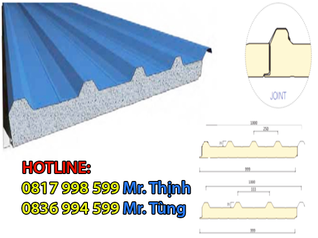 panel cách nhiệt mái nhà xưởng
