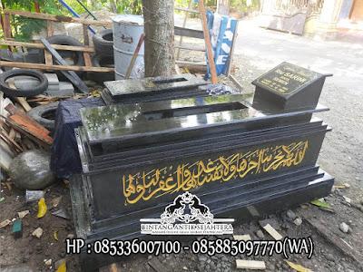 Model Makam Keramik Islam, Makam Marmer Tulungagung, Makam Marmer Hitam