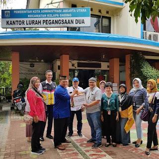 Pelni Bagikan Bantuan Korban Banjir di Jakarta Utara