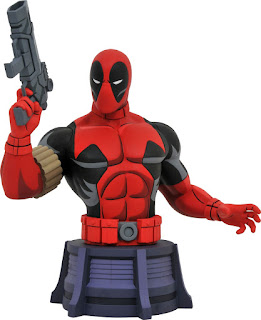 Toy Fair 2020 Diamond Select Marvel X-Men The Animated Series Deadpool 6-Inch Bust