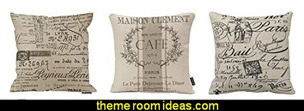 vintage pillows paris france paris decor
