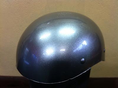 1029469758 - カスタムペイント工程  ダックテールヘルメット 奈良フレイムス