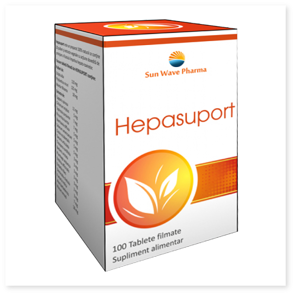 Hepasuport - protejeaza natural ficatul