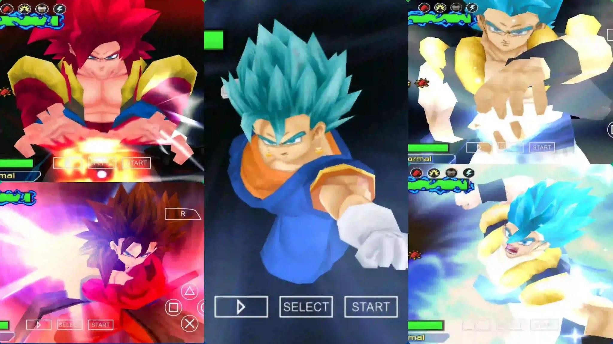 Super Dragon Ball Heroes Gogeta And Vegito