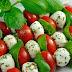 Cherry tomato and mozzarella skewer