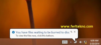 You Have Files Waiting to be Burned to Disc