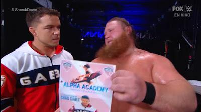 Otis Chad Gable Smackdown Team WWE MITB