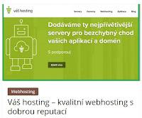 Váš hosting – kvalitní webhosting s dobrou reputací - AzaŽurnál