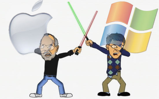 steve jobs apple vs bill gates microsoft