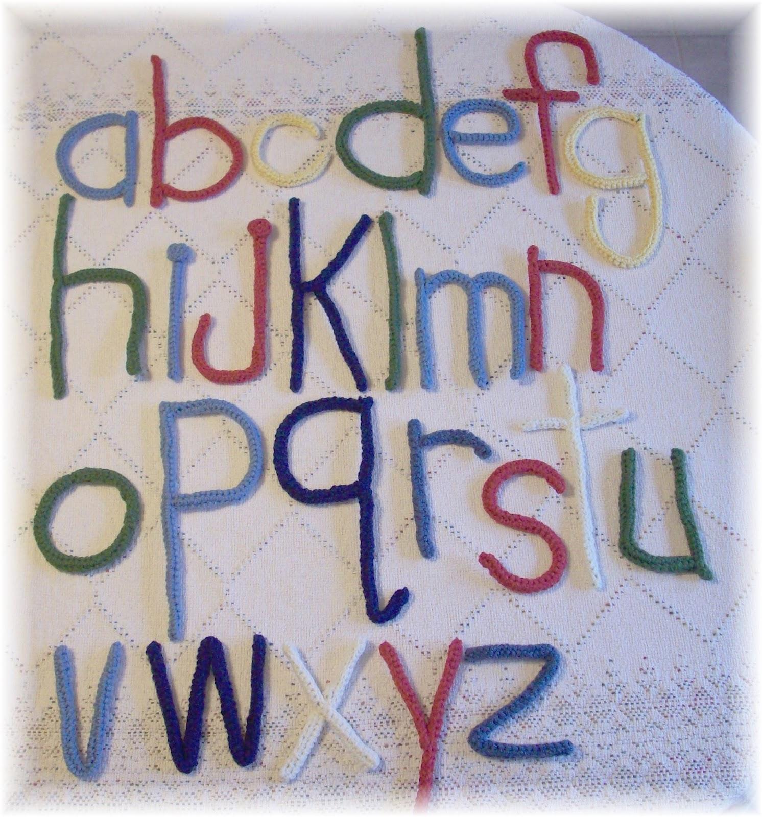 Ktbdesigns Alphabet Pdf Crochet Pattern