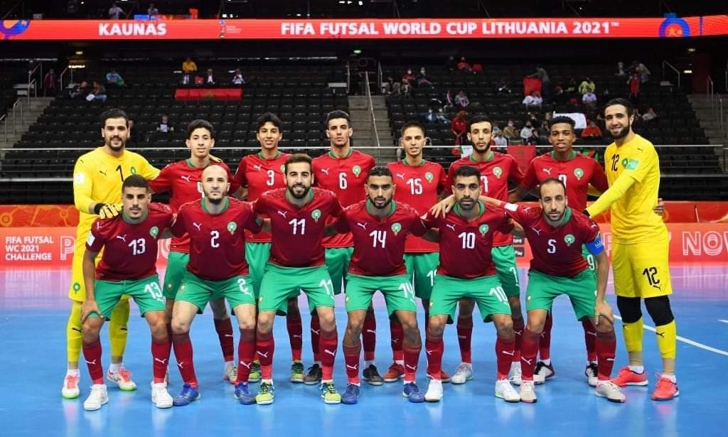 منتخب أسود القاعة يتأهل الى ثمن نهائي كأس العالم
