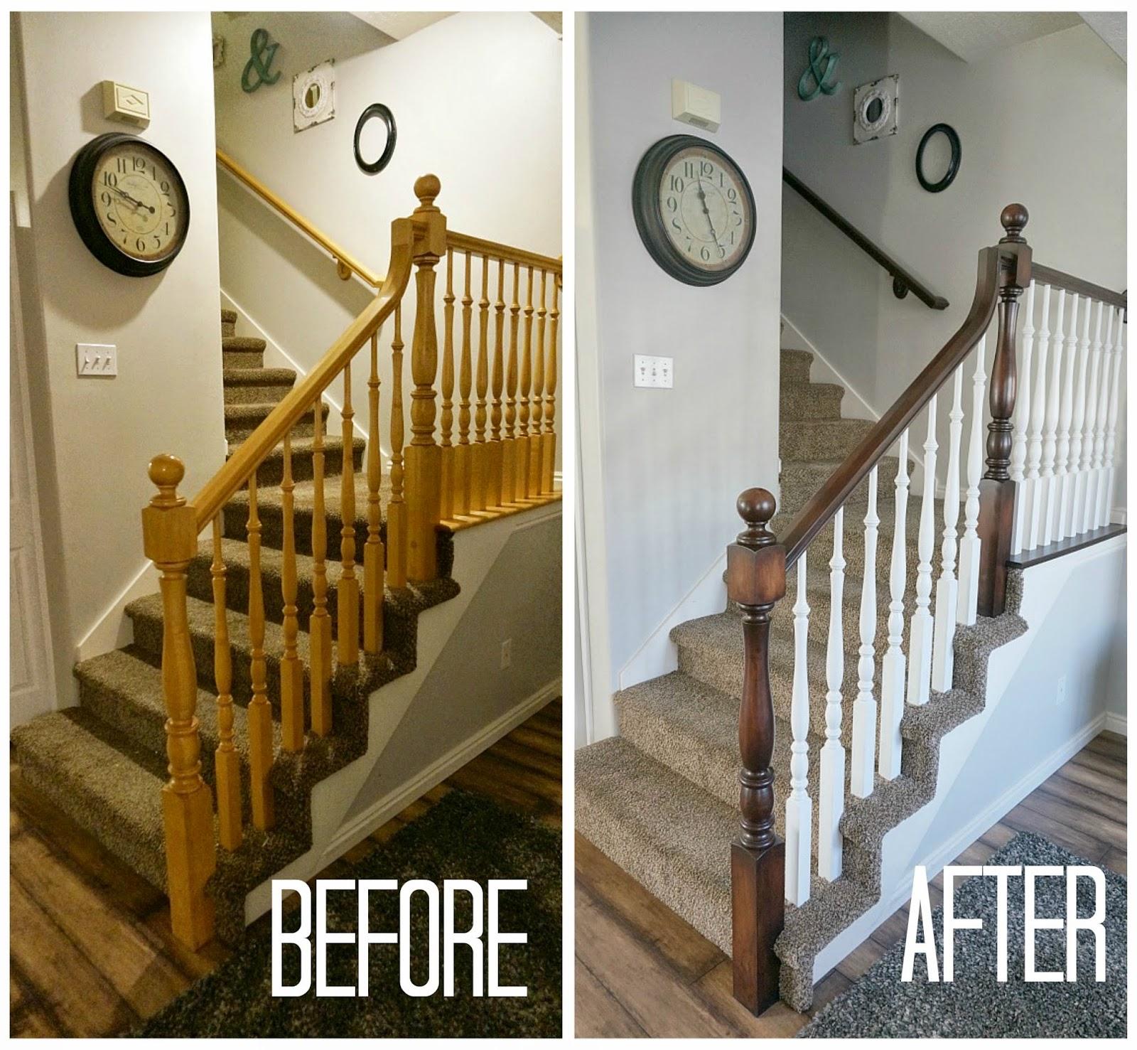 Two Points For Honesty: Refinishing Oak Stair Railings