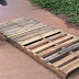 DIY Summer Pallet Swing Bed
