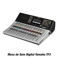 Mesa de Som Digital Yamaha TF3