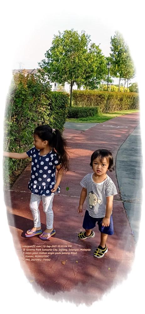 [t21i12] Makan angin di Giverny Park Sunsuria City di Sepang di Malaysia