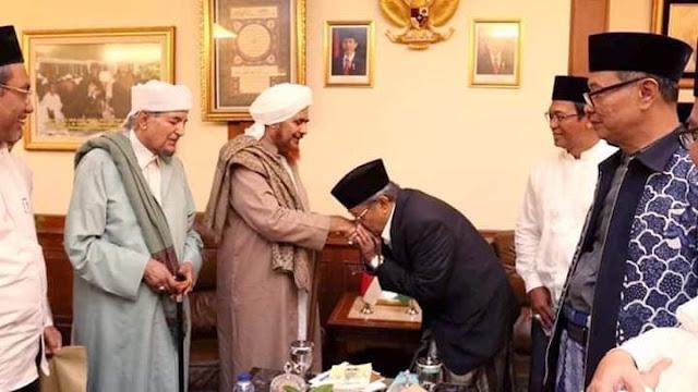 Kunjungan Habib Umar ke PBNU Merupakan Dukungan Terhadap Perjuangan NU