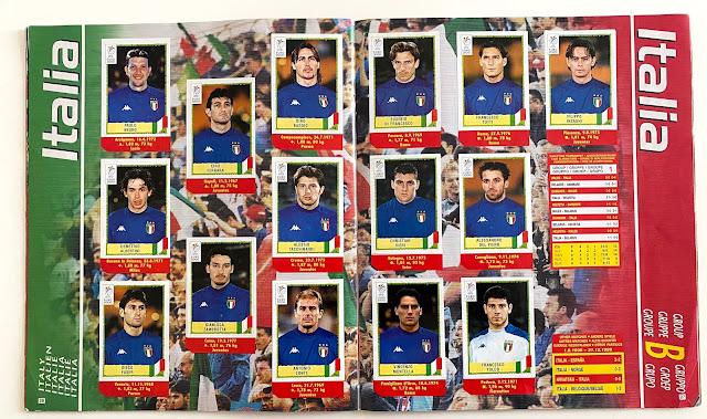 Figurine Euro 2000 Italia