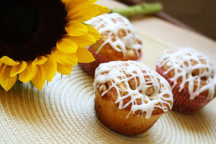Popular Recipes and Cooking: Cinnamon Roll Muffins