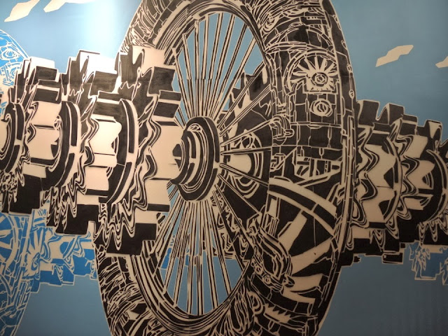 New Indoor Piece By Polish Artist M-City At The Sandnes Science Museum In Norway 3
