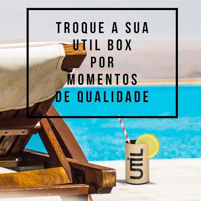 UTIL BOX –Ofereça o melhor presente do mundo: tempo