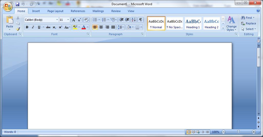 Microsoft Office 2007 SP3 Portable - Serupting