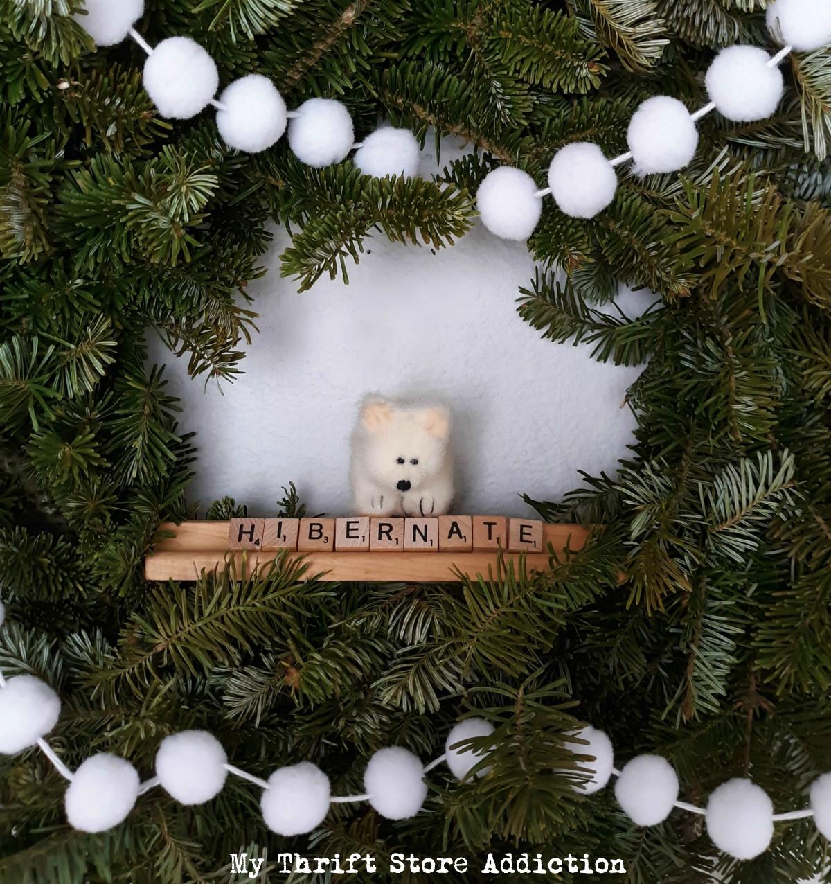 whimsical winter decor