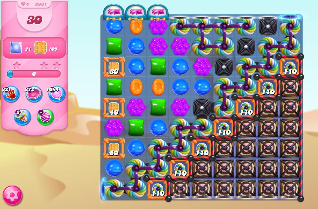 Candy Crush Saga level 8961
