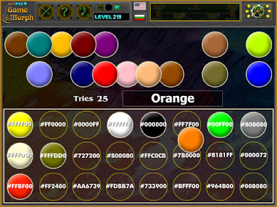 Color Hex Puzzle