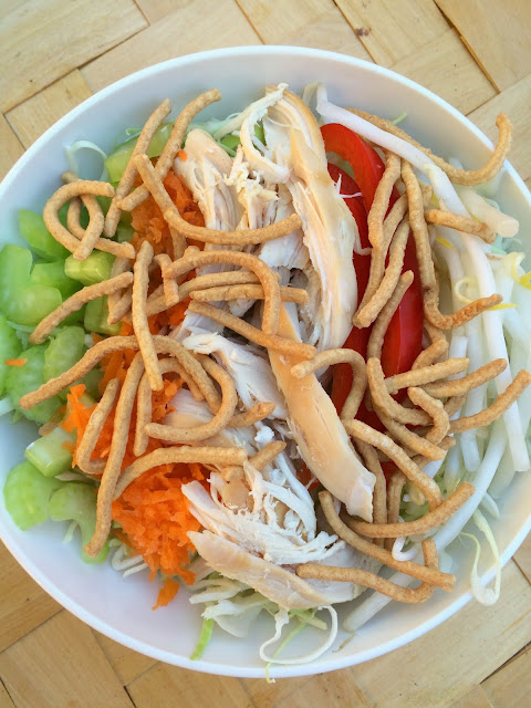 Chopped Chop Suey Salad Recipe - Perfect healthy and delicious alternative to Chinese Chicken Salad and so fun for Chinese New Year | www.jacolynmurphy.com