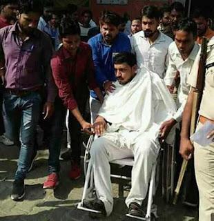 राजस्थान: भीम आर्मी वाले चंद्रशेखर रावण को दलितों ने जमकर कूटा, CAA के विरोध में प्रदर्शन करने गए थे: देखे क्या है –