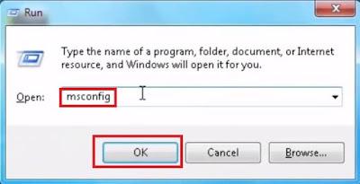 ايقاف تشغيل البرامج الضاره