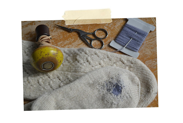 Can the Trend of Visible Mending Help to Remove the Stigma of Old Clothes?
