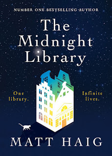 The Mignight Library by Matt Haig book cover