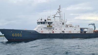 Dua Kapal Tabrakan di Laut Gresik, 5 ABK Hilang, Pencarian Terkendala Ombak Tinggi