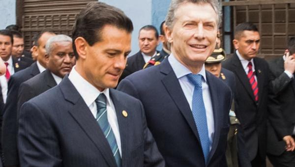 Estudiantes argentinos rechazan visita de Peña Nieto
