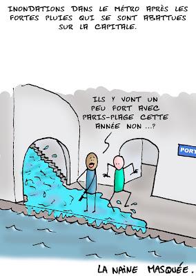Que d'eau….