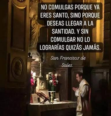 comunion y santidad san francisco de sales